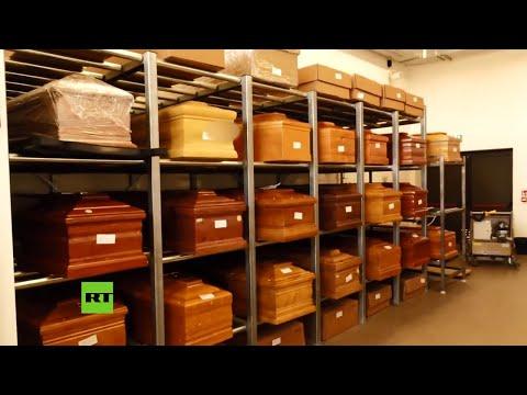 Un crematorio italiano, sobrecargado por el coronavirus