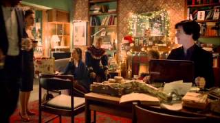 Sherlock and Molly Christmas scene