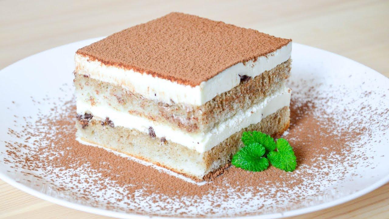 Смотреть видео торт тирамису