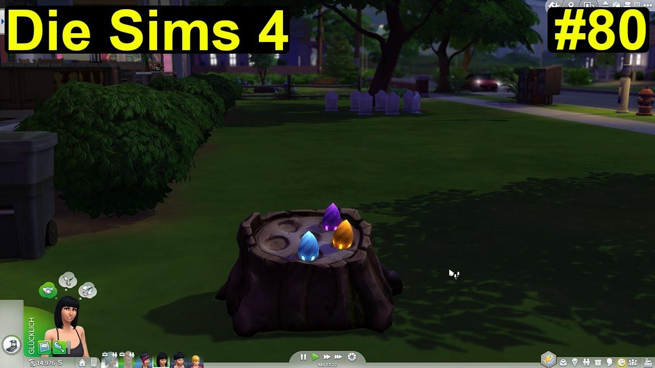 Die Sims 4 - 3 magische Bohnen #80 - Deutsch/German - YouTube
