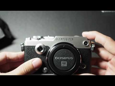 Relaxing Unboxing Of The Olympus Pen-F - ASMR