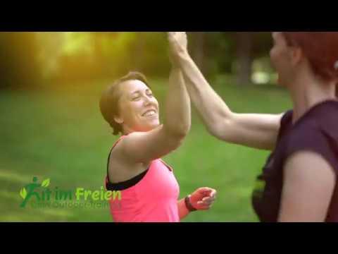 Personal-Trainer Diane Stahr - Fit im Freien - Dein Outdoor Training - Imagefilm