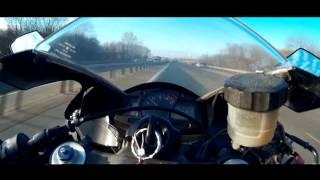 Максимальная скорость Honda CBR600RR 08(На 6 передаче стоит ограничитель отсечьки и не дает оборотам подниматься выше 14000, как сказал мне знакомый,е..., 2015-03-07T13:42:44.000Z)