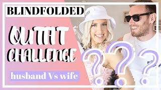 I BOUGHT AN ENTIRE OUTFIT BLINDFOLDED | HUBBY vs WIFE CHALLENGE