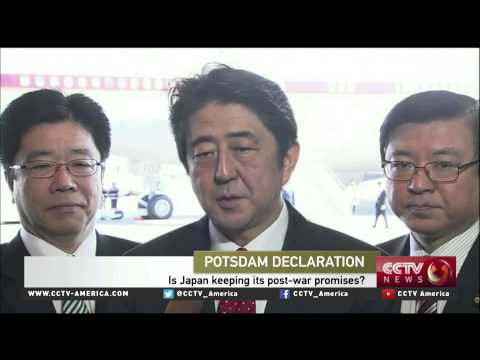 Einar Tangen on Japan's struggling with Potsdam Declaration