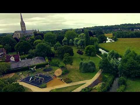 Queen Elizabeth Gardens - Salisbury, Wiltshire UK