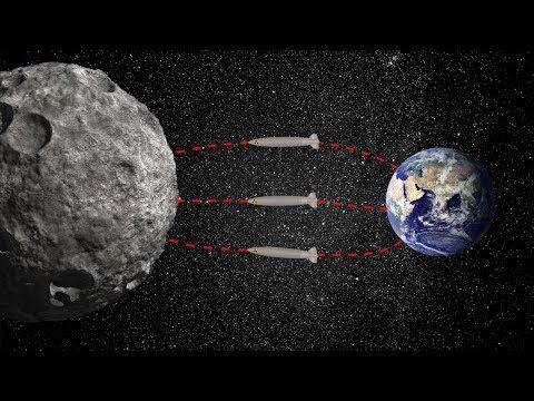 План NASA по спасению Земли от гигантского астероида