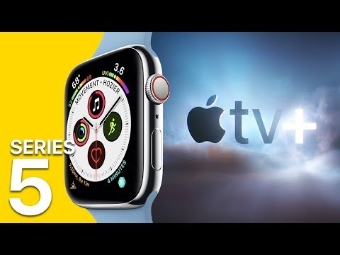 Apple Watch Series 5 leaks Apple TV for $9.99 a month?