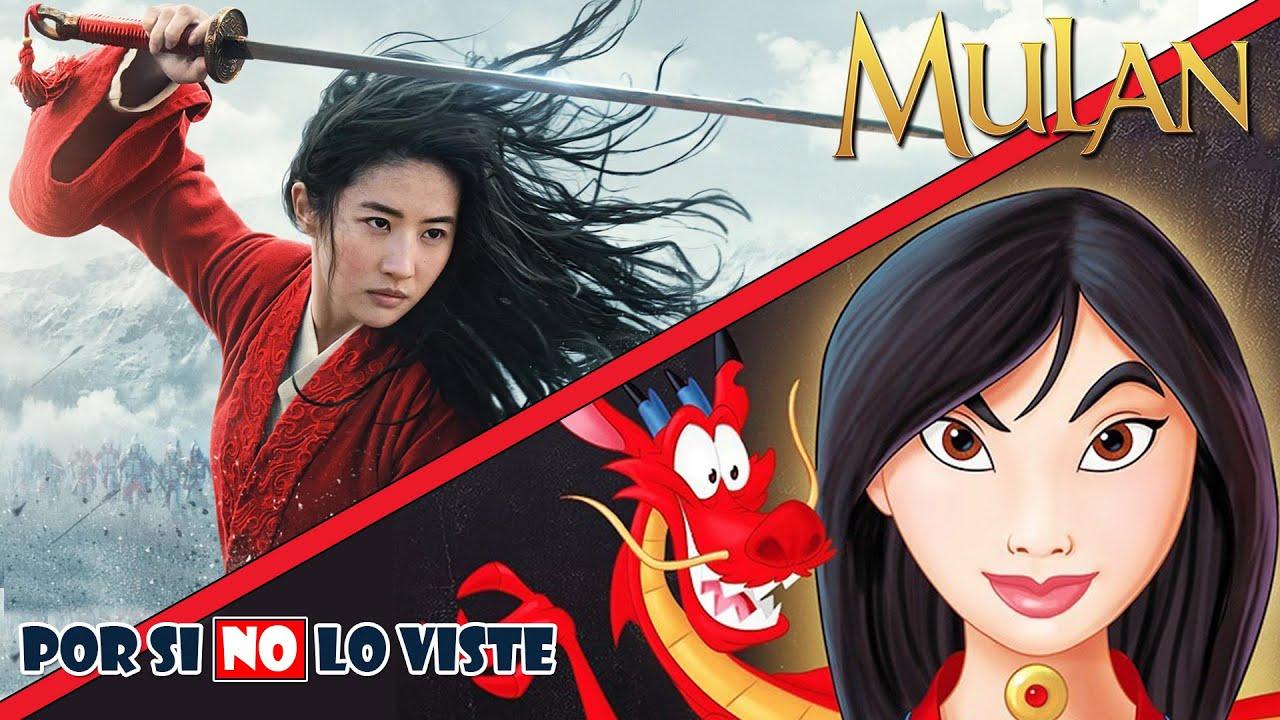 Por si no lo viste: Mulan (2020) vs Mulan (1998)