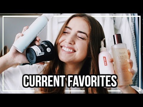 MY CURRENT FAVORITES! Skincare, Beauty, Fashion, & Music! | AUGUST 2018 thumbnail