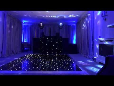 Setting Up Disco Dance Floor And Moodlighting Youtube