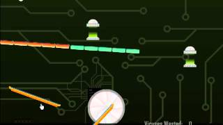 Virus Bounce - Flash Game Walkthrough