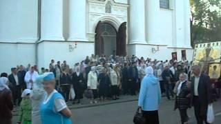 Крестный ход в Жировичах.AVI(Видео сайта http://mikashevichi.ru., 2012-05-22T08:18:40.000Z)