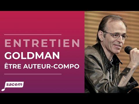 """Jean-Jacques Goldman """"Etre auteur-compositeur c'est un savoir-faire"""" - Master-class Sacem"""