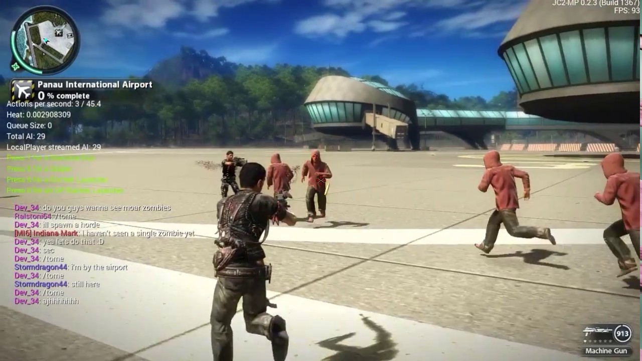 Just Cause 2 Multiplayer | Terrain Generation and Zombies