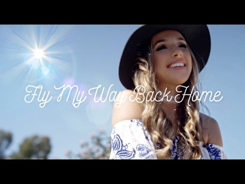 Margeaux Jordan - Fly My Way Back Home (Official Music Video) - Perfect Graduation & Wedding Song