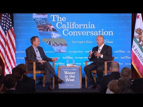 Drought Special: Q&A with Gov. Jerry Brown and L.A. Times' Austin Beutner