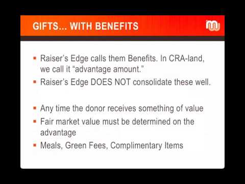 raiser s edge therapy year end tax receipts cra guidelines for