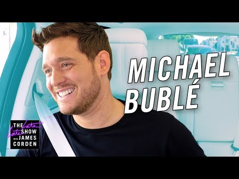 Michael Bublé  Carpool Karaoke - Stand Up To Cancer