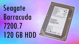 Seagate Barracuda 7200.7 120 GB IDE Hard Disk Drive Review