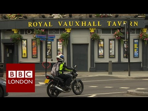 Royal Vauxhall Tavern: LGBT Seek Protection - BBC London News