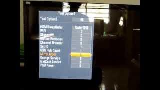 Como ajustar TV LED, LCD ou Plasma(modo de serviço) parte 1