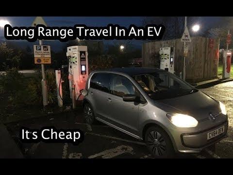 Long Distance Travel In An EV - It's Cheap