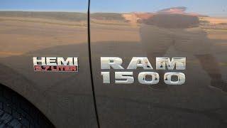 DODGE RAM 1500 ACCELERATION TEST 0 - 125 KM/H  400 HP  5.7 L V8 HEMI