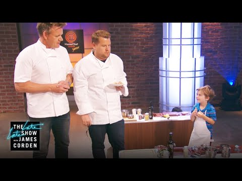 1ed57a1a73fc MasterChef Junior Junior w/ Gordon Ramsay - YouTube