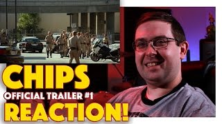 REACTION! CHiPs Official Trailer #1 - Michael Pena, Dax Shepard Movie 2017
