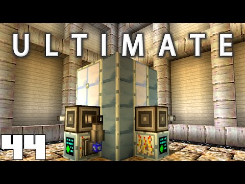 Minecraft Mods FTB Ultimate - CHROME INGOTS !!! [E44] (HermitCraft Modded Server)