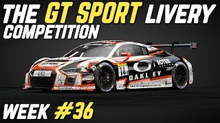 The GT SPORT LIVERY Competition - Week #36