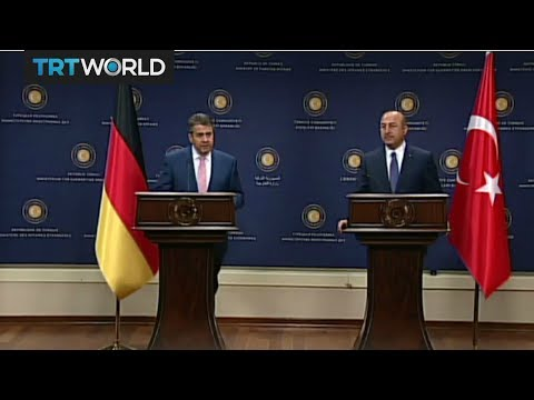 Turkish, German foreign ministers hold crucial talks