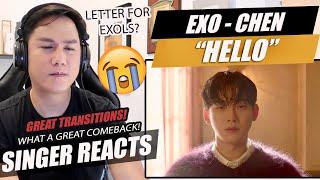 Download lagu CHEN 첸 '안녕 (Hello)' MV | SINGER REACTION