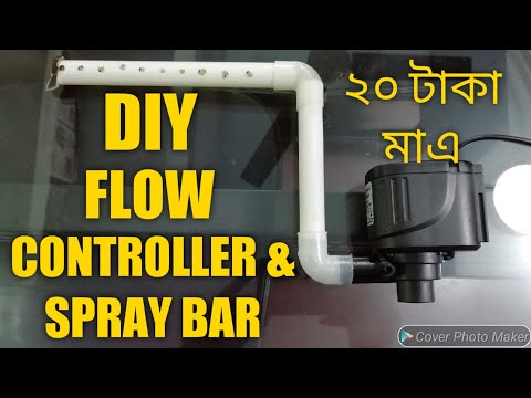 DIY BEST Cheap Water Flow Controller & Spray Bar