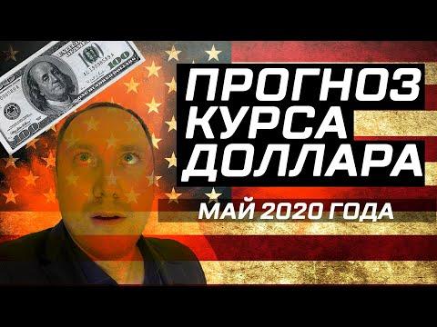 Прогноз курса доллара на май 2020 года. Новый обвал рубля из-за нефти! Доллар рубль прогноз