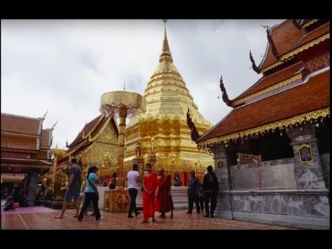 A day at Wat Phra That Doi Suthep Chiang Mai, Thailand