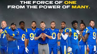 Los Angeles Rams x Maŗvel Studios' Eternals: The Force Of One, From The Power Of Many
