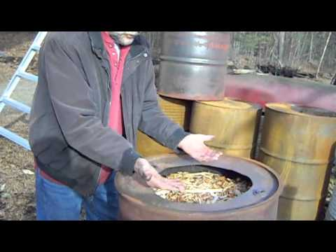 Making Biochar with Jolly Roger Ovens