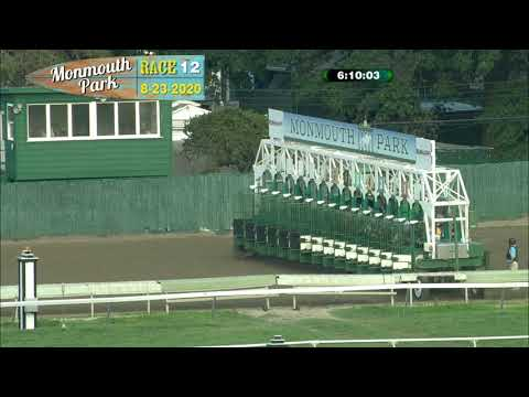 video thumbnail for MONMOUTH PARK 08-23-20 RACE 12