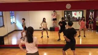 Girls Hiphop Class with Jaye 2 (Decline - Raye)