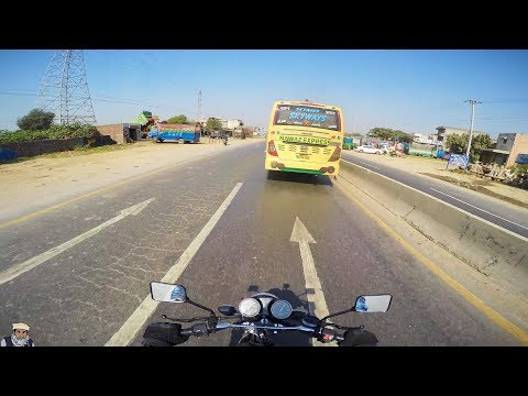 Sialkot to Islamabad in  5 minutes - Suzuki GS 150 SE