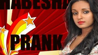 Actress Mahder Assefa Amaizingly Pranked by Habesha Prank full show