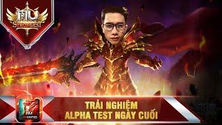 🔴 LIVE | MU Strongest Trải nghiệm này cuối Alpha Test cùng Nam Nguyễn