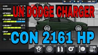 UN DODGE CHARGER CON 2161 HP! - PIXEL CAR RACER