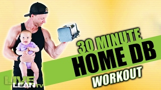 CRUSH CALORIES with this NEW 30 Minute Home Dumbbell Workout