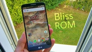 LG G2 Android 6.0.1 Marshmallow Bliss Rom 6.4 OFFICIAL