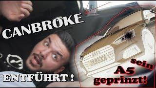 Canbroke wird entführt !!! Wir folieren seinen Audi A5 !!
