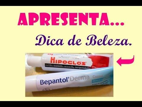 Receita De Beleza Bepantol E Hipoglos Youtube