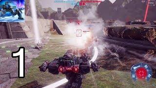 War Robots PC - Gameplay Walkthrough Part 1| Valley Map